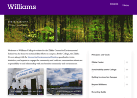 sustainability.williams.edu