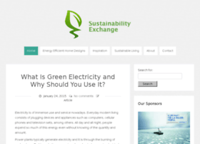 sustainabilityexchange.co.uk