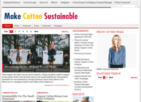 sustainablecottons.com