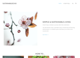 sustainableecho.com