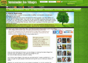 sustainableecovillages.net