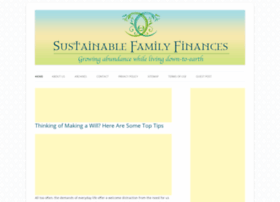 sustainablefamilyfinances.com