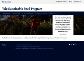 sustainablefood.yale.edu