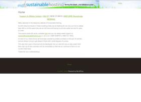 sustainablehosting.com