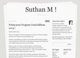 suthanm.com