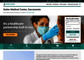 suttermedicalcenter.org