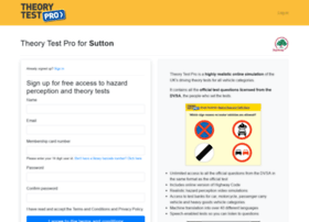 sutton.theorytestpro.co.uk