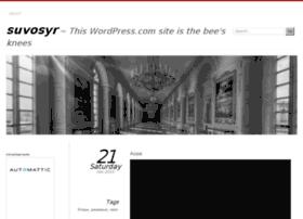 suvosyr.wordpress.com