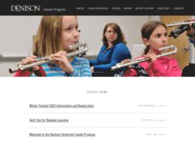 suzuki.denison.edu
