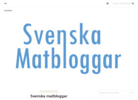 svenskamatbloggar.se