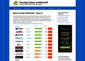 sverigesbastawebbhotell.se