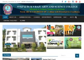 svkpandksrajucollege.org.in