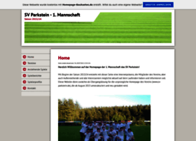 svparkstein-erste.de.tl