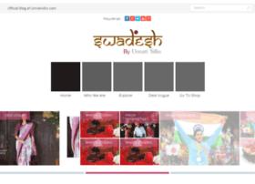 swadesh.unnatisilks.com