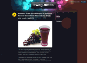 swag-notes.tumblr.com Visit site