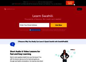 swahilipod101.com