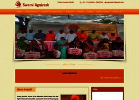 swamiagnivesh.com