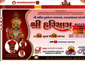 swaminarayanvadtalgadi.org