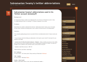 swamy39abbreviations.wordpress.com