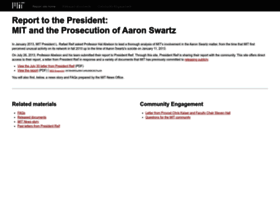 swartz-report.mit.edu