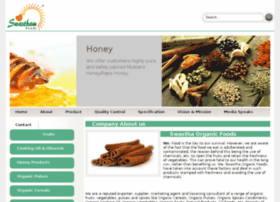 swasthaorganicfoods.com