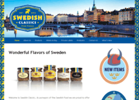 swedishfoodclassics.com