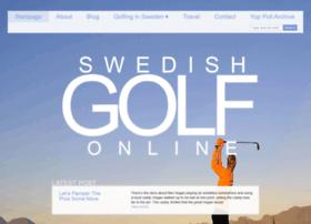 swedishgolfonline.com
