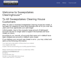 sweepstakesclearinghouse.com