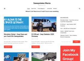 sweepstakesmania.com