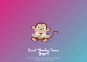 sweetmonkeyfrozenyogurt.com