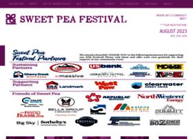sweetpeafestival.org