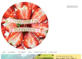 sweetsandbrains.com