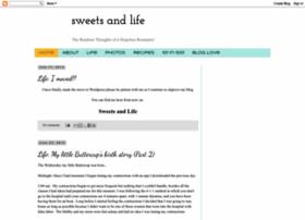 sweetsandlife.blogspot.com