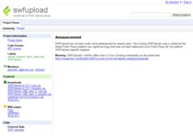 swfupload.googlecode.com