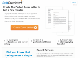 swiftcoverletter.com