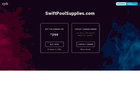 swiftpoolsupplies.com
