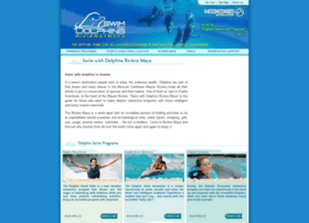 swimwithdolphinsrivieramaya.com