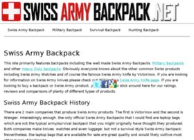 swissarmybackpack.net