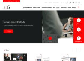 swissfinanceinstitute.ch