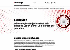 swisssign.com