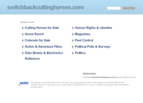 switchbackcuttinghorses.com