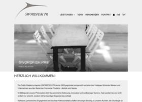 swordfish-pr.de