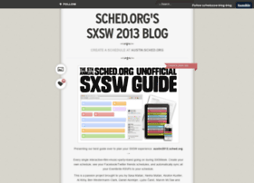 sxswblog.sched.org