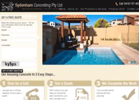 sydenhamconcreting.com.au