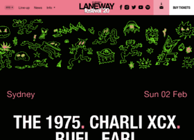 sydney.lanewayfestival.com