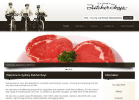 sydneybutcherboys.com