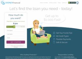 sydneyfinancial2.usloanadvances.com