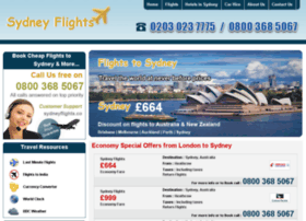 sydneyflights.co