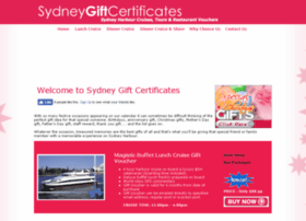 sydneygiftcertificates.com.au