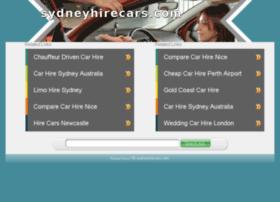 sydneyhirecars.com